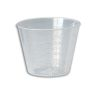 MI/1577B  Medecine cup - disposable plastic dose - Pack of 100. Units